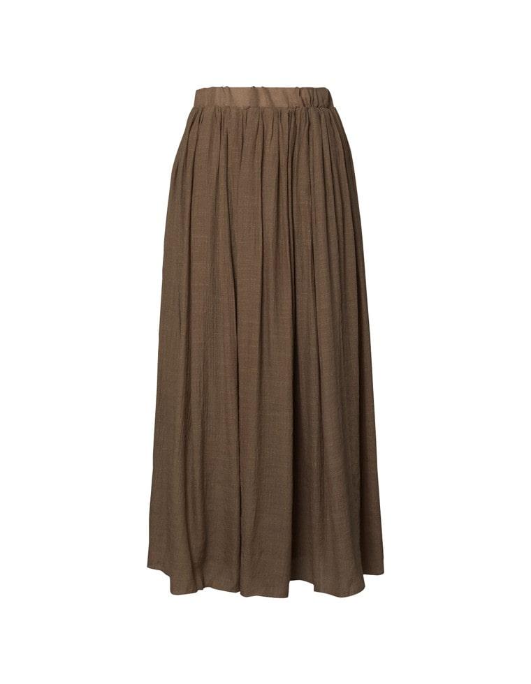 楊柳ロングフレアスカート