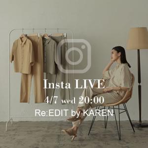 210406_news 【告知!インスタLIVE配信】KARENさんコラボ&ライブ