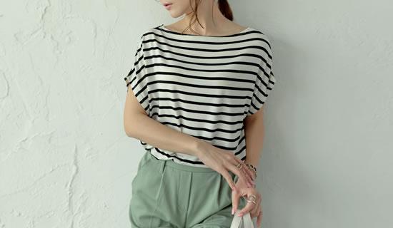 116823_[お家で洗える]接触冷感ドルマンTシャツ