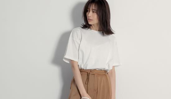 オーバーサイズ半袖Tシャツ