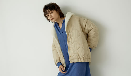 [2021-22 WINTER PRE ORDER]オーバーサイズ裏ボアキルティングジャケット