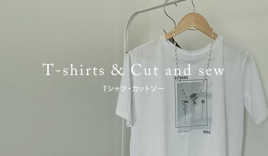 ベーシックかつトレンド感もこの夏本命のTシャツ&カットソー