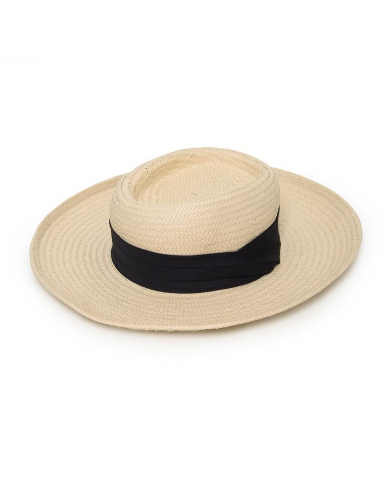 ペーパーカンカン帽
