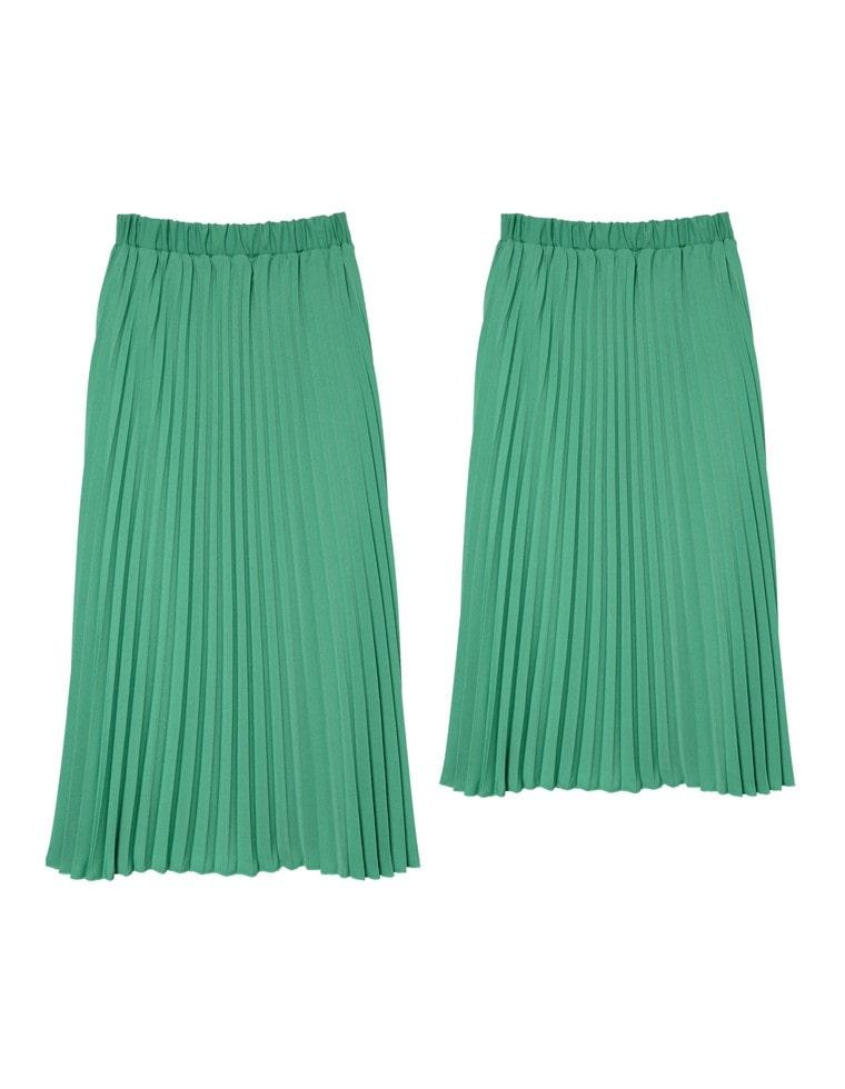 丈が選べるセミオーダープリーツスカート