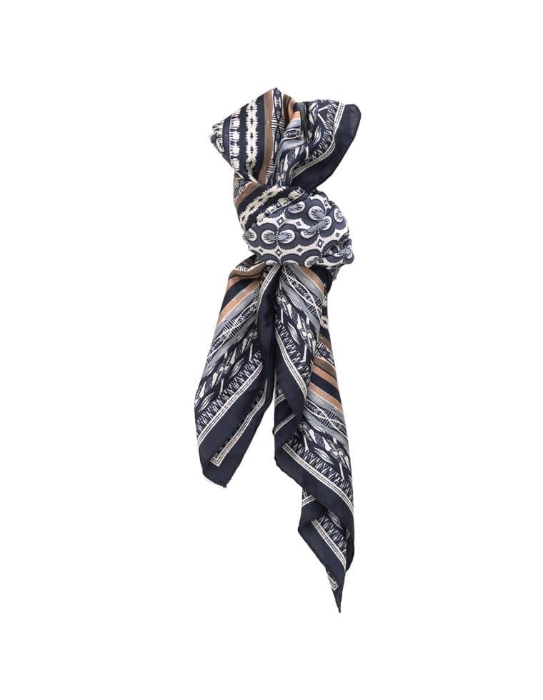 エスニックプリントスカーフ