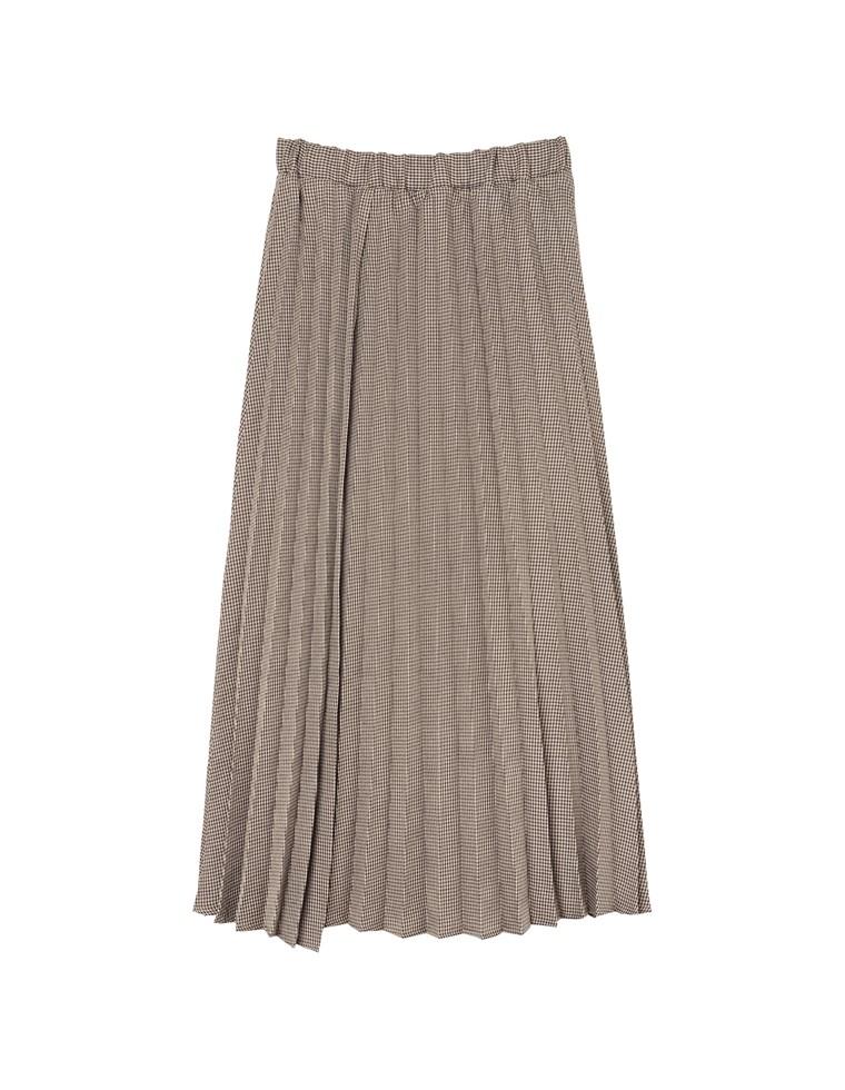 エステルアシメプリーツスカート