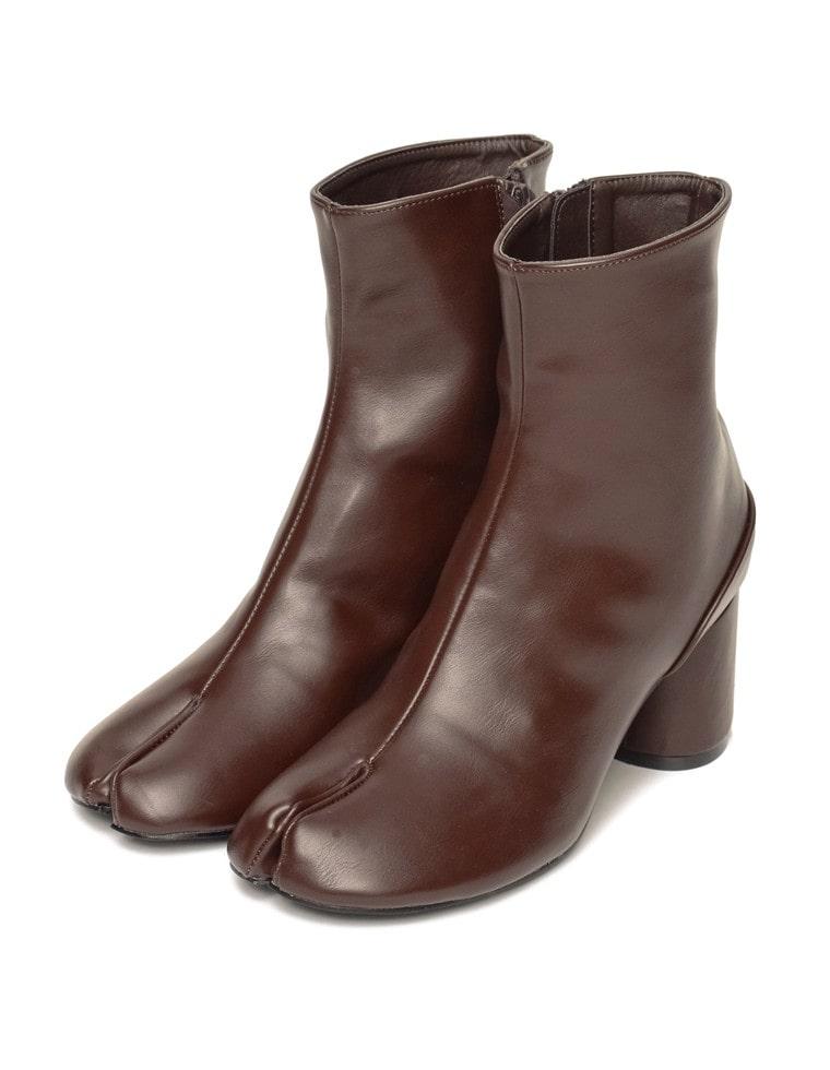 [近藤千尋さん着用]ミドル丈足袋ブーツ