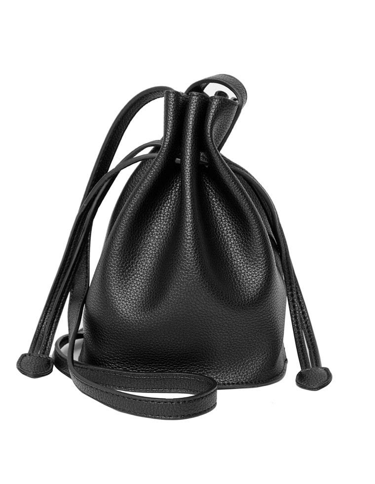 巾着型ショルダーバッグ