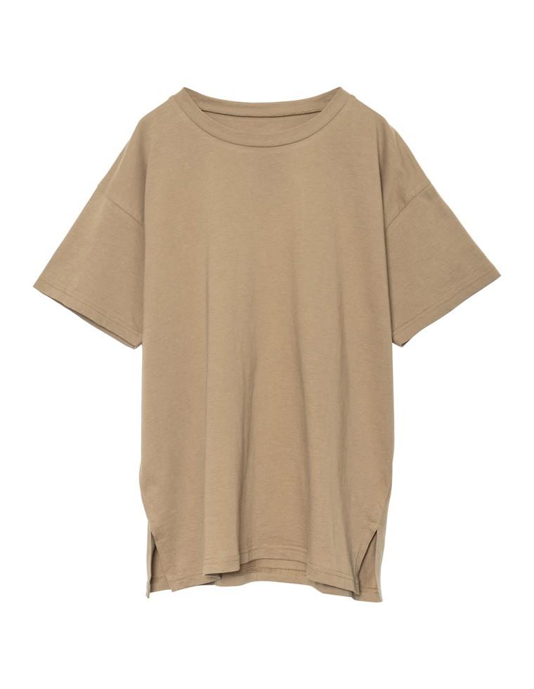 [人と地球に優しい]シンプルビッグTシャツ