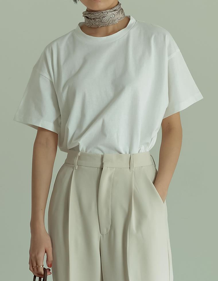 Re:EDIT‐リエディ [人と地球に優しい]シンプルビッグTシャツ