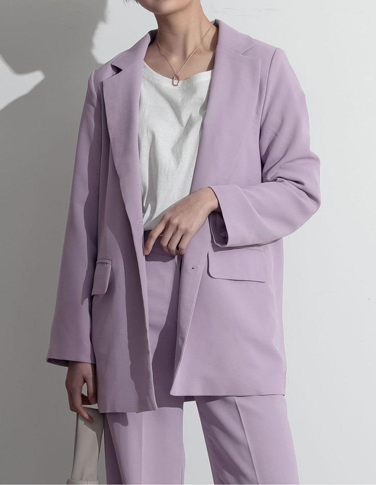 Re:EDIT‐リエディ カラーテーラードジャケット