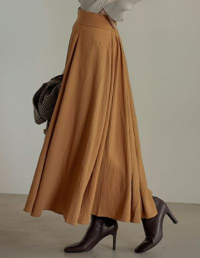 [低身長サイズ有]ハイウエストナローヘムスカート
