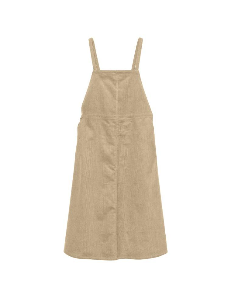 [低身長向けSサイズ対応]太コーデュロイジャンパースカート