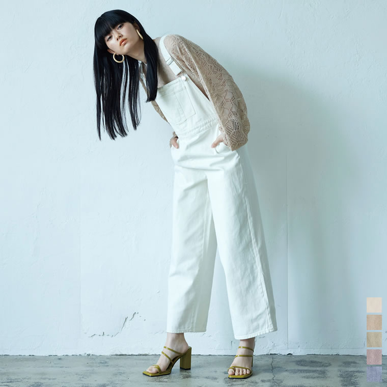 133778_[2021S/S COLLECTION]ブリーチデニムサロペット