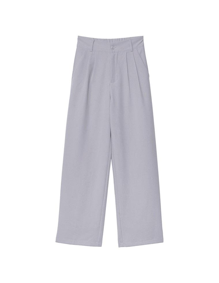 [高橋ユウさん着用][低身長向け/高身長向けサイズ有]ダブルタックストレートスラックスパンツ