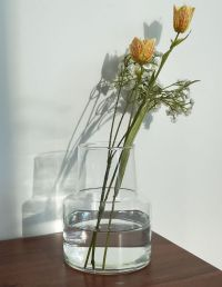 リューズガラス フラワーベース ロケート(S)