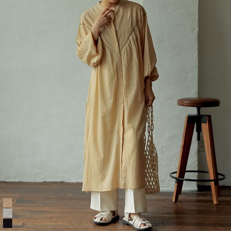 134177_[低身長サイズ有]インド綿レース刺繍ロングワンピース