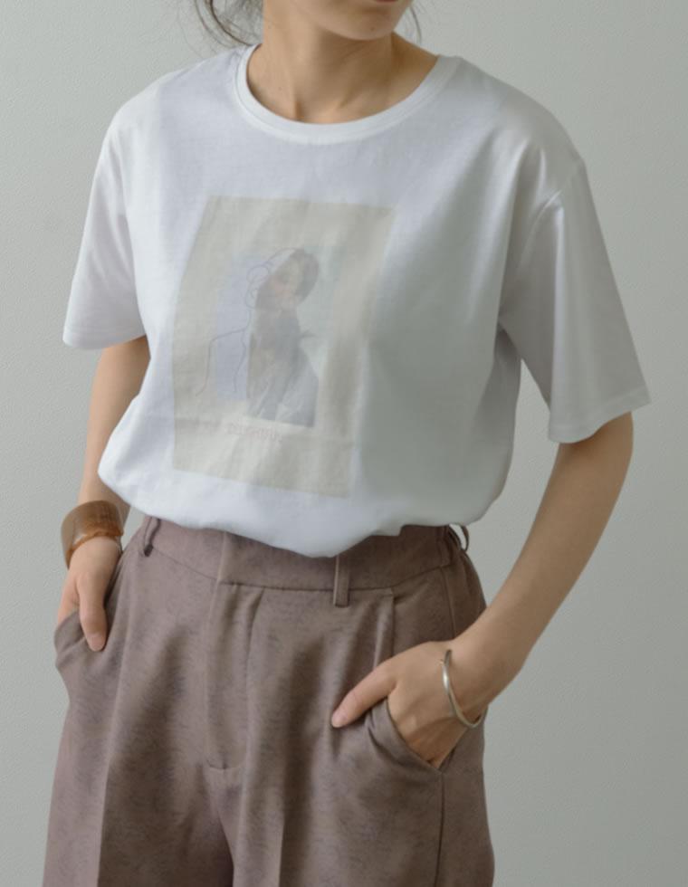 134266_シルケットコットンフォトプリントTシャツ