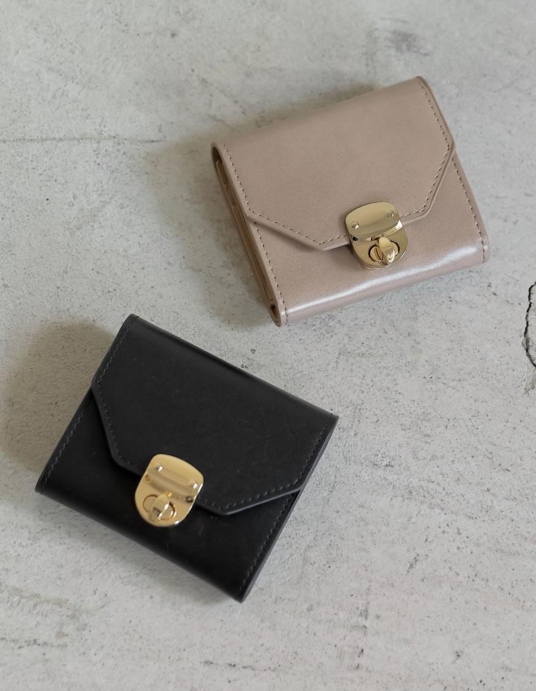Re:EDIT‐リエディ クロスボックスコイン三つ折財布