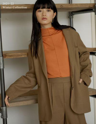 [2021-22 WINTER PRE ORDER]起毛ツイルカラーテーラードジャケット